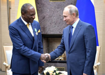 La Guinée à l'honneur du Sommet Afrique Russie de Sotchi