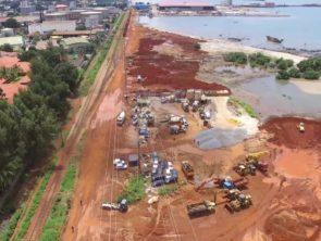 Construction d'un viaduc entre le Pont 8 novembre et le Port autonome de Conakry