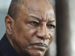 Alpha Condé, candidat à l'élection présidentielle du 18 octobre 2020